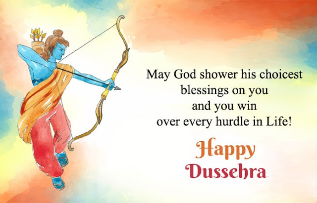 Dussehra Quotes Wishes In English