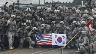 Latihan Militer Bersama Amerika Serikat - Korea Selatan