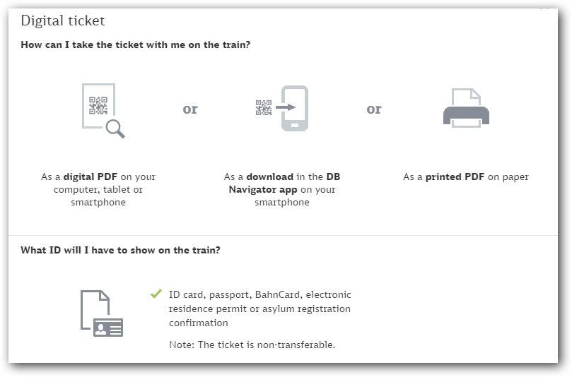 第一種:  Digital-Ticket  數位票: