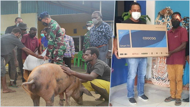 Pria Difabel yang Kepalanya Diinjak Dikasih TV hingga Babi, TNI Disebut Rendahkan Korban