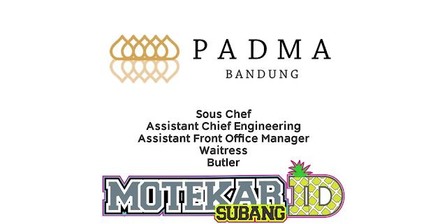 Info Lowongan Kerja Hotel Padma (Bandung)  2019