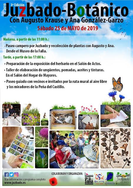 Juzbado, Juzbado botánico 2019