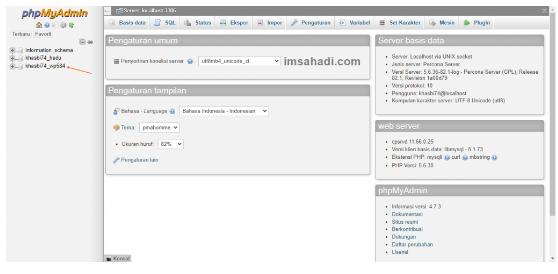 basis data Wordpress