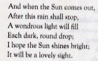 The Rain by W.H Davies Stanza 2