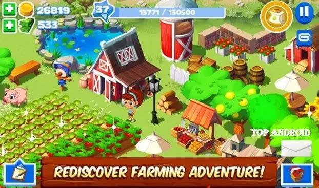 تحميل لعبة Green Farm 3 مهكرة للاندرويد اخر اصدار
