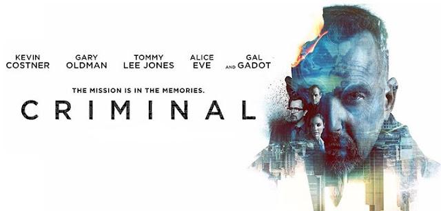 poster film Criminal cu Kevin Costner si Gary Oldman