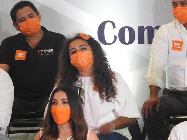 El futuro de Yucatán será feminista o no será: Movimiento Ciudadano