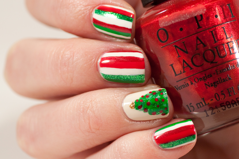 Christmas Tree Nails May Contain Traces Of Polish