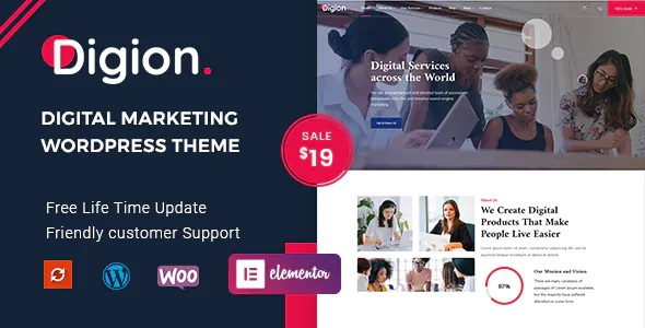 Best Online Digital Marketing WordPress Theme