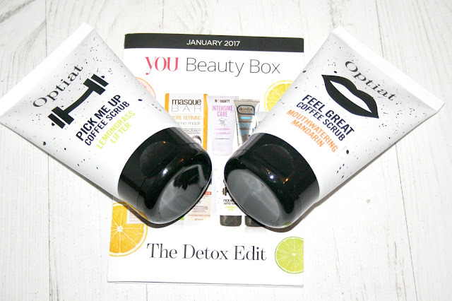 You Beauty Box - The Detox Edit January 2017
