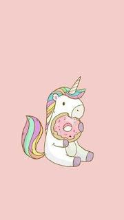 Imágenes de Unicornios kawaii fondos para celular whatsapp tiernos