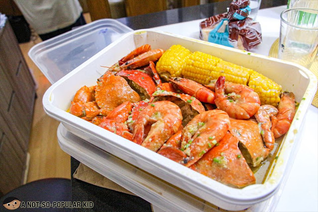 Crab2Go's Mix Crab and Shrimps for Manila Delivery