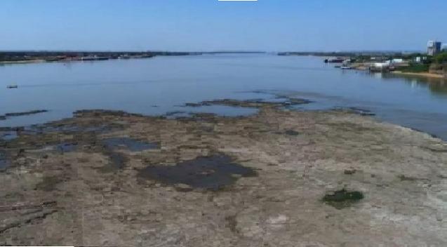 Maior seca desde 1970 afeta níveis de rios que abastecem o Pantanal de MT