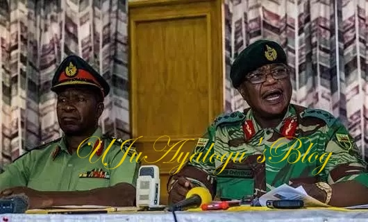 Army chief who took power from Mugabe faces sanction