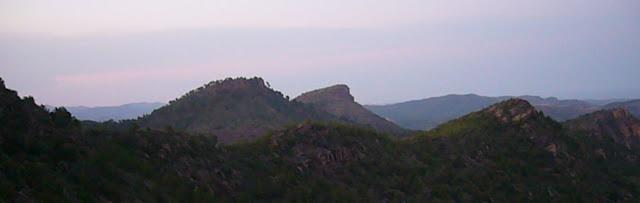 Vistas desde el Pico del Águila de Gilet