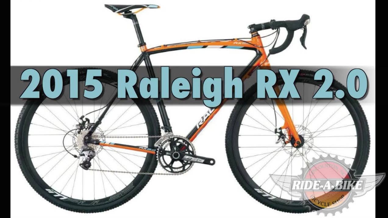 VIDEO REVIEW: 2015 Raleigh RX 2 0 Cyclocross Bike! – Ride-A