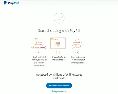how to create a paypal account online