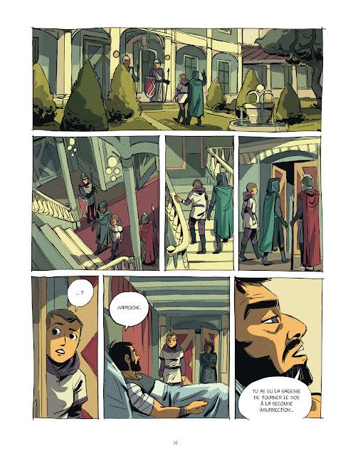 Eden tome 2 -L'âme des inspirés Page 16 aux éditions Rue de Sèvres