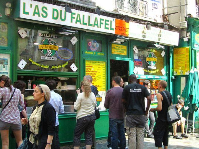 Restoran L'As du Fallafel Paris