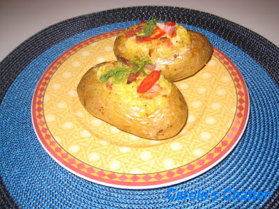 Carole's Chatter: Loaded Baked Potatoes Re-loaded