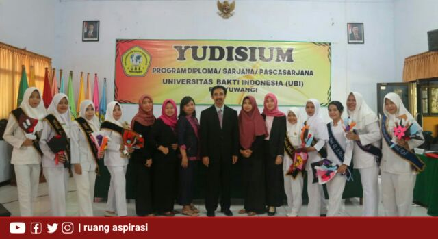 Gelar Prosesi Yudisium, Berikut Tiga Pesan Rektor UBI Kepada Calon Sarjana