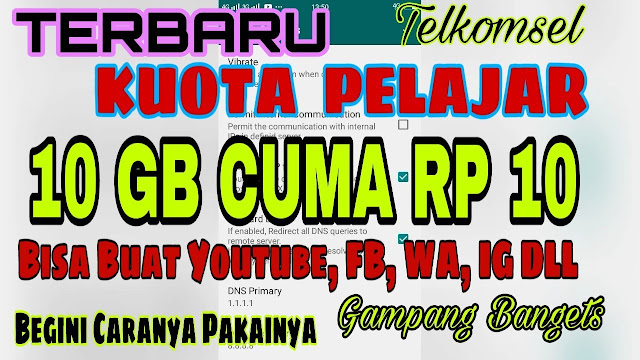 Kuota 10gb 10 Rupiah Telkomsel