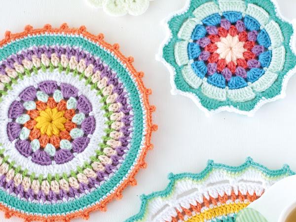 a7846b841f32 Mandala a Crochet: 10 Patrones Gratis - Arte Friki