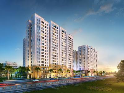 Dự án HanoiHomeLand trung tâm quận Long Biên hút khách
