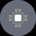 Chip Computer CPU Hardware Icon
