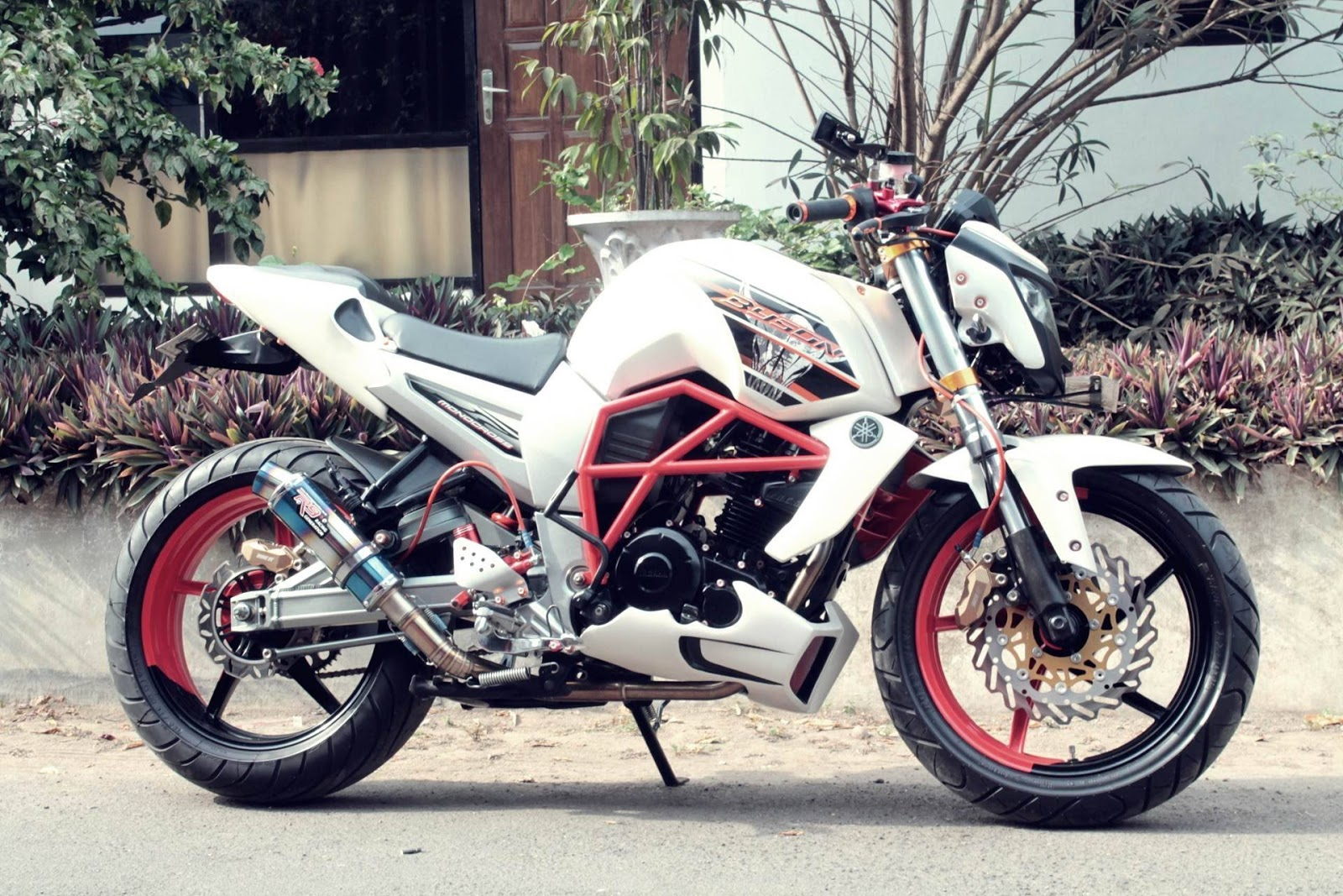 50 Kumpulan Modifikasi Motor Yamaha Byson Street Fighter Full
