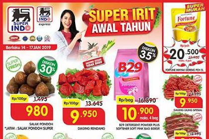 Katalog Promo Superindo Weekend JSM Terbaru 18 - 20 Januari 2019