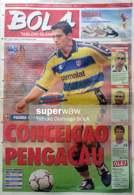 Tabloid BOLA: CONCEICAO PENGACAU