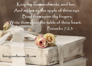 Proverbs 7 Scripture Pictures