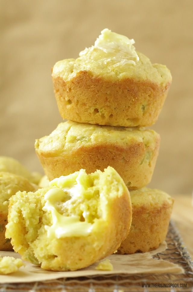 Homemade Cornbread Muffins (Sweet or Savory)
