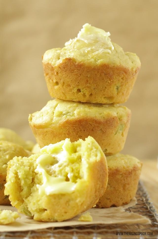 Homemade Cornbread Muffins