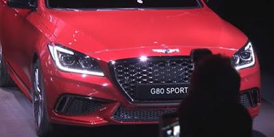 2017 Genesis G80 Sports