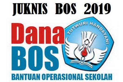 Donwload Juknis Bos Tahun 2019 pdf - untuk SD SMP SMA SMK SLB