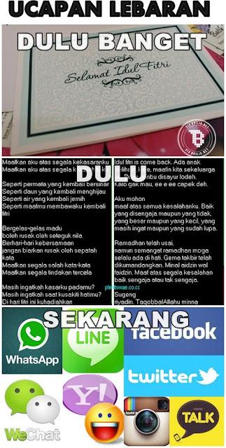 Ini Bedanya Lebaran di Indonesia Jaman Dulu VS Jaman Sekarang.