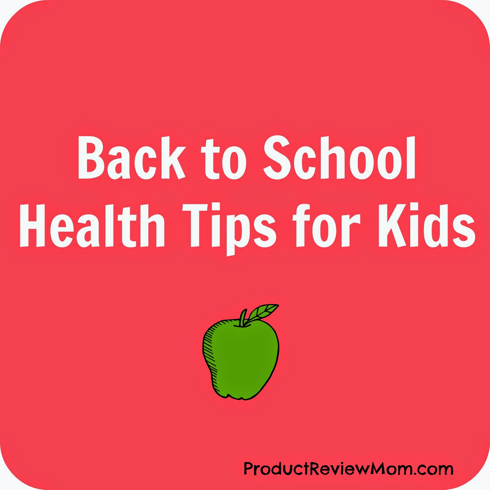 Back to School Health Tips for Kids #BacktoSchool via www.Productreviewmom.com