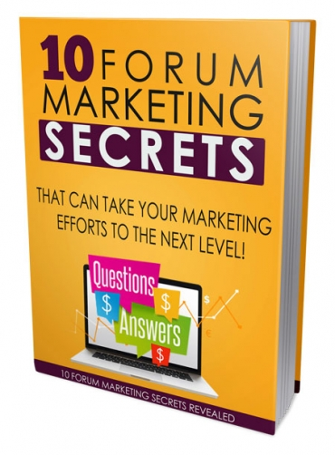 10 forum marketing secret take your marketing efforts to the nextlevel