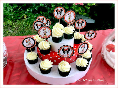 kit personalizado Minnie Mouse