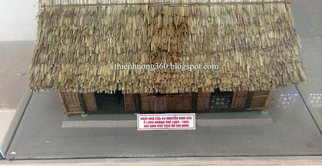 Ngôi nhà nơi gia đình Cụ Phó bảng Nguyễn Sinh Sắc đã sống ở làng Hoàng Trù từ năm 1883-1894
