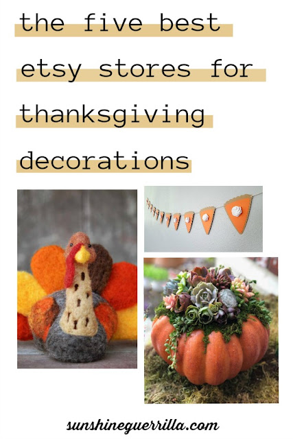 The Five Best Etsy Stores for Your Thanksgiving Table