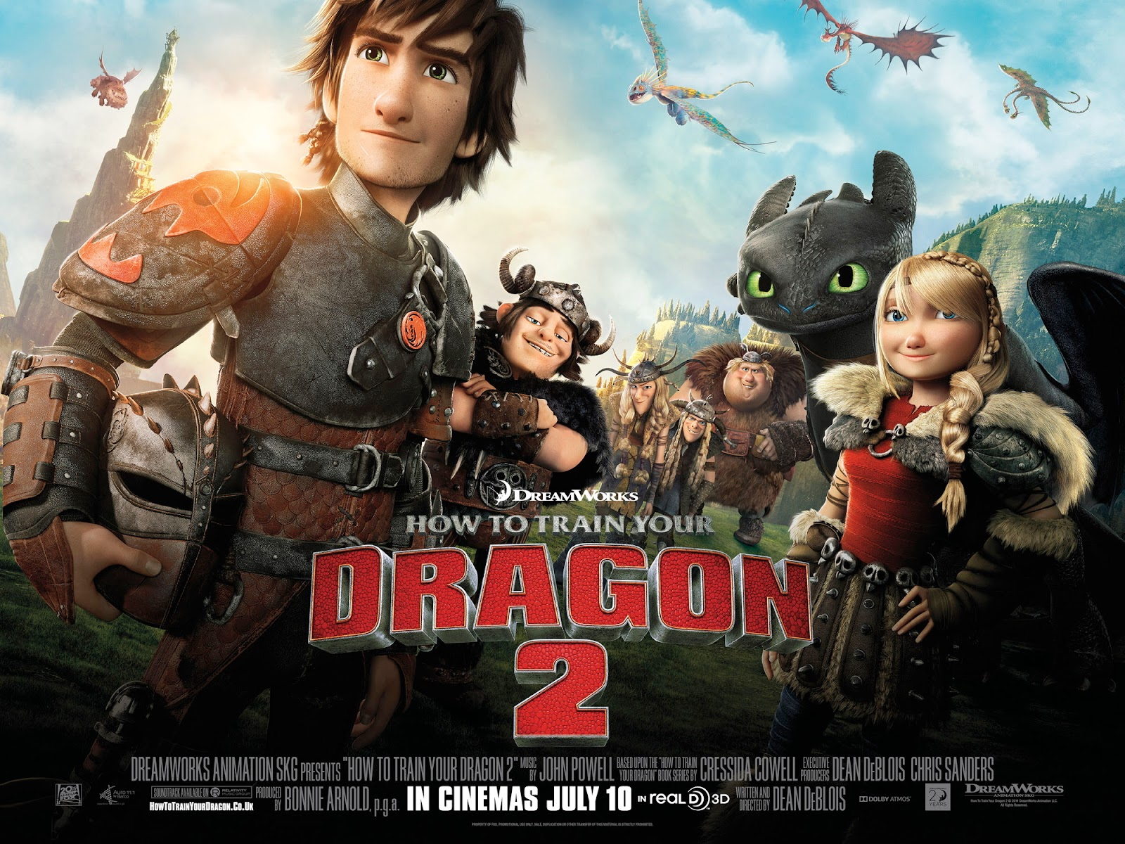 How to train your dragon 2 2014 animation kartun usa bluray a third installment in the trilogy how to train your dragon 3 is scheduled to be released on may 18 2018 ccuart