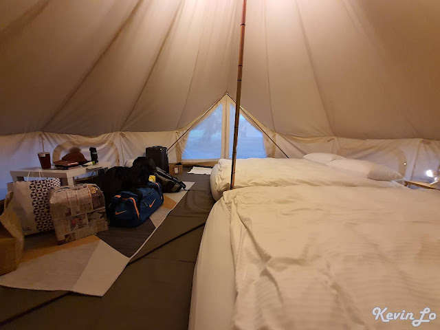拉波波村營區帳篷空間寬敞舒適