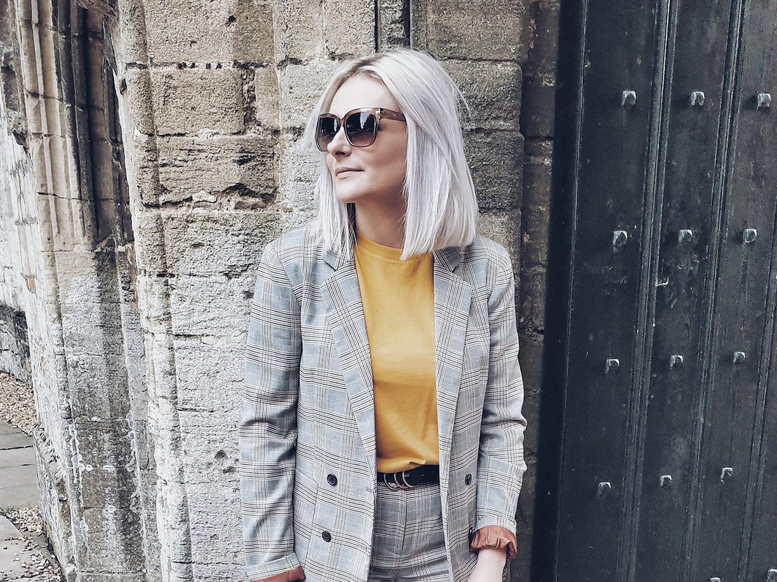 Check ladies suit czyli idealny garnitur (nie tylko) na jesień