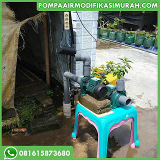 Modifikasi Pompa Air Biasa