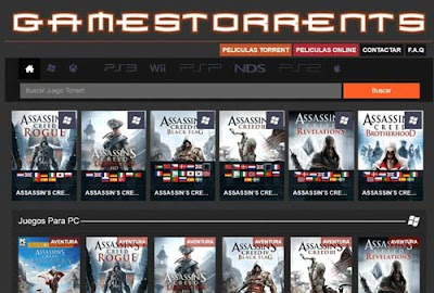 موقع Gamestorrents