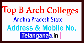 B Arch Colleges in Andhra Pradesh