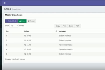 Codeigniter - Download Source Code Gratis Aplikasi Ujian Online (CBT) Menggunakan Codeigniter